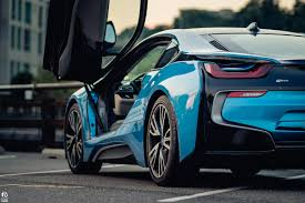 bmw supercar blue test driving the bmw i8 tony yang
