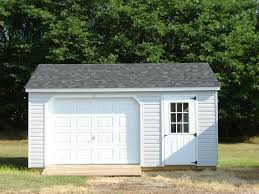 Single Car Garages by Prefab Garages Byler Barns