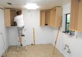 Diy Kitchen Cabinet Install Cabinet Kitchen Cabinet Installation Installing Kitchen Cabinets