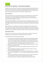 purpose of cover letter for resume how to win your ideal role cv interview preparation