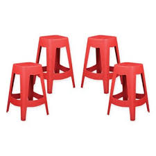 buy red counter stools from bed bath u0026 beyond