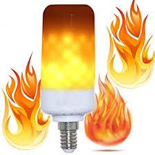 led flame effect fire light bulbs amazon com rayway e14 led flame effect fire light bulbs 3 modes