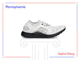 Pennsylvania best travel shoes images Adidas ultraboost sneaker artists designs 50 states usa PNG
