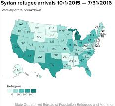 Hell Michigan Map by Obama Admits 10 000 Syrian Refugees This Is Where They Are Headed