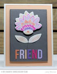 fancy flowers card kit inspiration