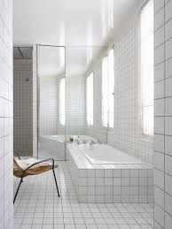 Tiled Bathroom Showers Bathroom Design White Tile Bathrooms Bathroom Showers Design