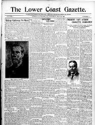 funeral phlets lower coast gazette pointe a la hache la 1909 1925 may 22
