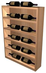 Vertical Bar Cabinet Vertical Wine Display Cabinet Rustic Pine Light Stain