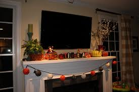 superior halloween decorating ideas indoor with nice fire place