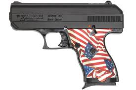 Flag Stands Outdoor Hi Point C9 9mm Patriot Pistol With American Flag Grip