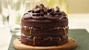 tall dark and stout chocolate layer cake recipe bettycrocker com