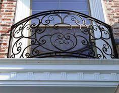 wrought iron stair handrail balustrades rails villa railing
