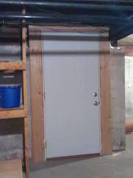 Hanging Prehung Door Interior Need Advice Installing Pre Hung Door In Basement Through