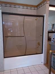 sliding framed showers gallery sd shower door alumax slider in oil