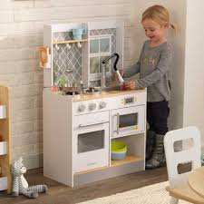 cuisine kidcraft let s cook wooden play kitchen