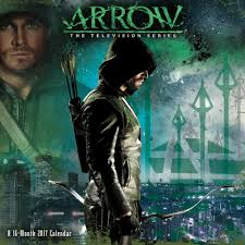 arrow wall calendar 2017 drama tv by trends international