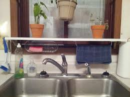 DIY Over The Sink Utility Shelf I Made With Supplies From Menards - Kitchen sink shelves