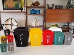 funky kitchen canisters 99 best canister sets images on vintage canisters