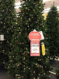 9 ft prelit tree at hobby lobby