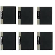photo album 8 5 x 11 pack of 6 itoya profolio 8 5 x 11 presentation photo album