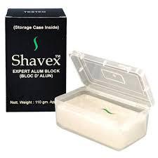 buy alum block shavex alum block 125g beard blade