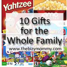 10 gifts for the whole family for the parents gift