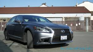 lexus sports car blue lexus ls 460 f sport review slashgear