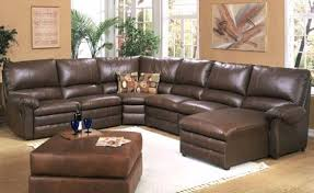 Sectional Reclining Sofas Leather Leather Sectionals With Recliners Sectional Recliner Tufted With