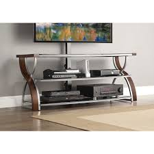 whalen brown cherry tv stand whalen 3 in 1 tv stand for tvs up to 60