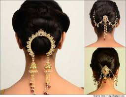 a traditional hair accessory to match indian for