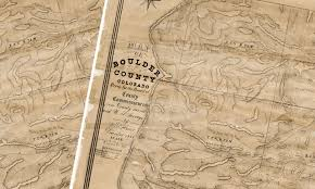 Cu Boulder Map Mapping Out Adventures Images