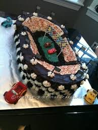 cool homemade disney cars birthday cake