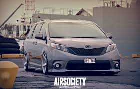 stanced toyota corolla pimped sienna se van hawaii photography pinterest toyota