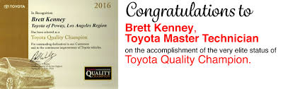 sales of toyota awards toyota of poway dealership