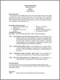 it cv management cv exles and template sle resume resume cv