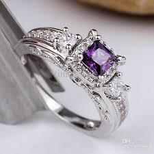 online rings silver images 2018 r156 pure 925 sterling silver ring women square purple jpg