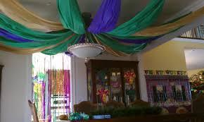 mardi gras decorating ideas decor prettyeasyliving mardi gras ceiling tablecloth