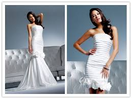 2 in 1 wedding dresses one dress two styles trendy fashionable