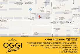 Guangzhou China Map by Oggi Is The Best Italian Restaurant In Guangzhou Awards Winner