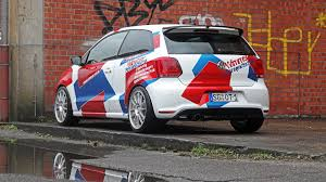 volkswagen polo modified tuned vw polo r wrc street has more power than golf r400