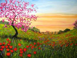 best 25 acrylic landscape painting ideas on pinterest landscape