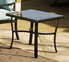 Side Patio Table Riviera Side Table Pottery Barn