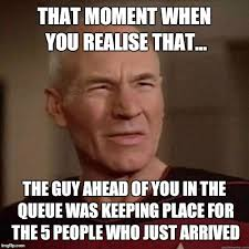 Meme Picard - annoyed picard imgflip