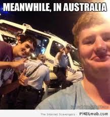 Straya Memes - 14 meanwhile in australia cops meme pmslweb