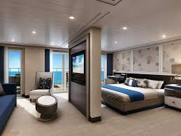 American Homes Interior Design Luxury Cruise Suite Is Larger Than American Homes Messagenote