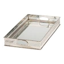 Silver Tray For Ottoman Shop Trays Decorative Serving Trays Ottoman Trays