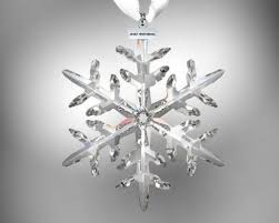 28 best christmas ornaments swarovski snowflakes images on