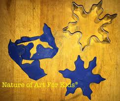 winter snowflake modeling project for kids clay play ecokidsart