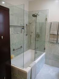 bathroom tub and shower ideas witching small bathroom design with tub and shower green
