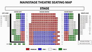 Phoenix College Map by Phx Stages Seating Charts
